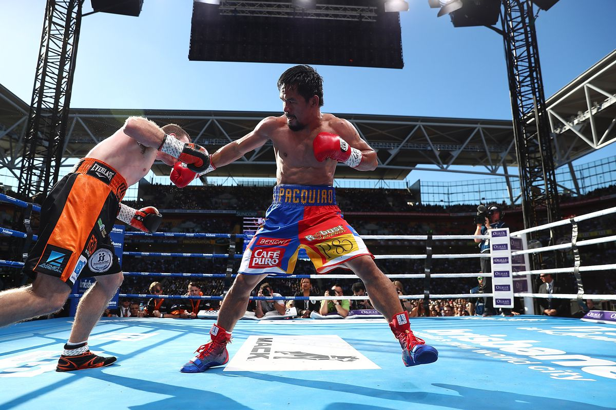Manny Pacquiao Out of Proposed Rematch With Jeff Horn