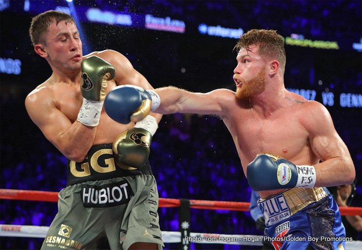 Golovkin promoter's concerns ahead of potential Canelo Alvarez rematch