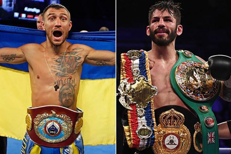 Vasyl Lomachenko vs. Jorge Linares Set For May 12 At MSG