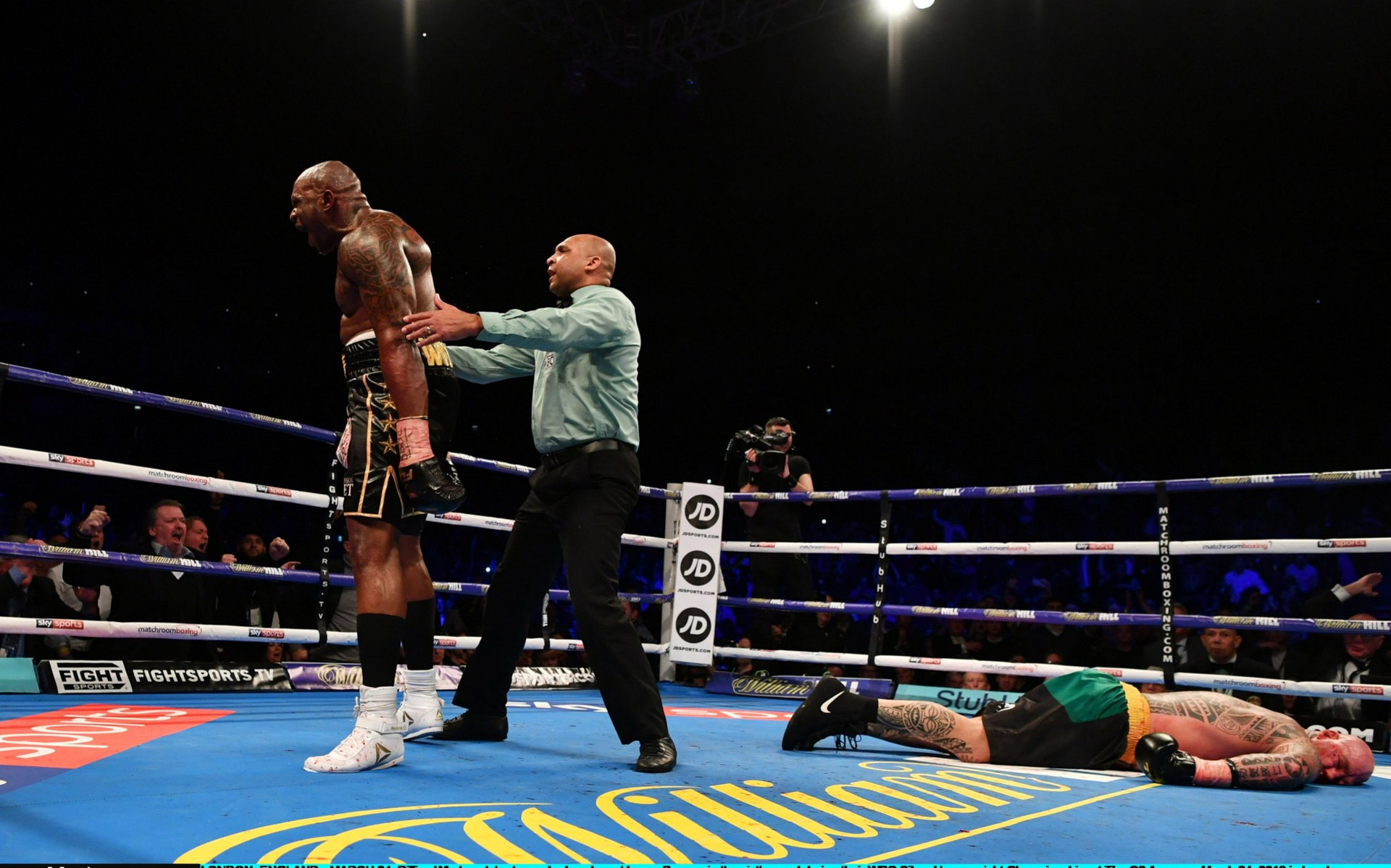 Dillian Whyte makes heavyweight statement with brutal knockout of Lucas Browne