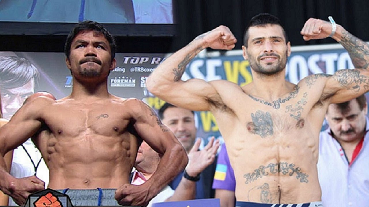 Manny Pacquiao v Lucas Matthysse Confirmed For July 14th