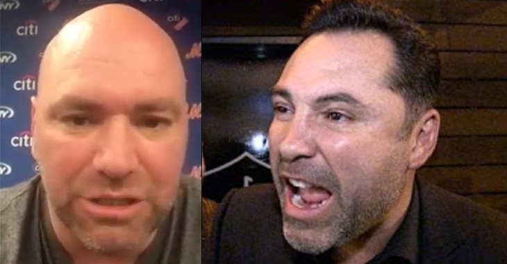 Dana White Unleashes Furious Language-Filled Tirade At Oscar De La Hoya