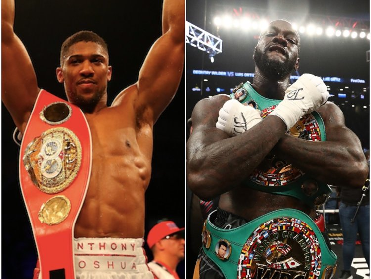 Anthony Joshua Reveals Target Date For Deontay Wilder Fight