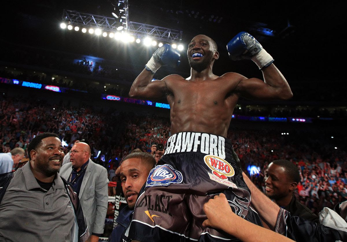 Terence Crawford vs Amir Khan confirmed for April 20