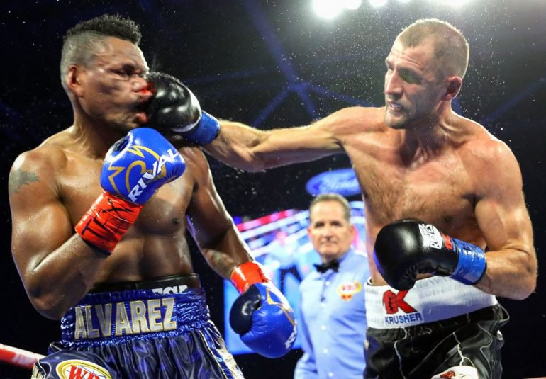 Sergey Kovalev evens score vs. Eleider Alvarez, regains WBO light heavyweight title