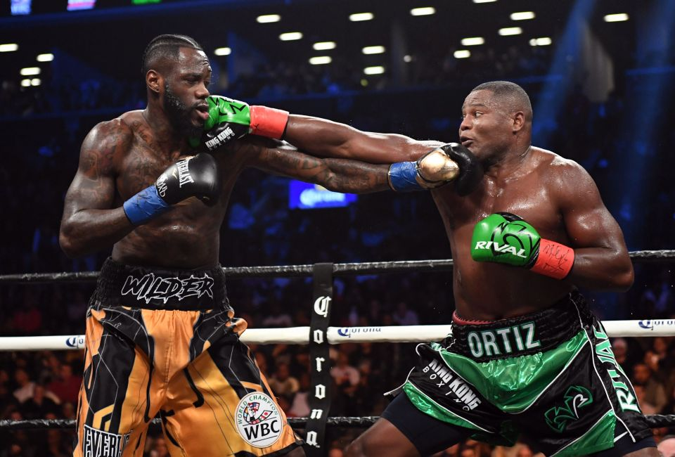 Wilder and Ortiz heavyweight rematch set for November
