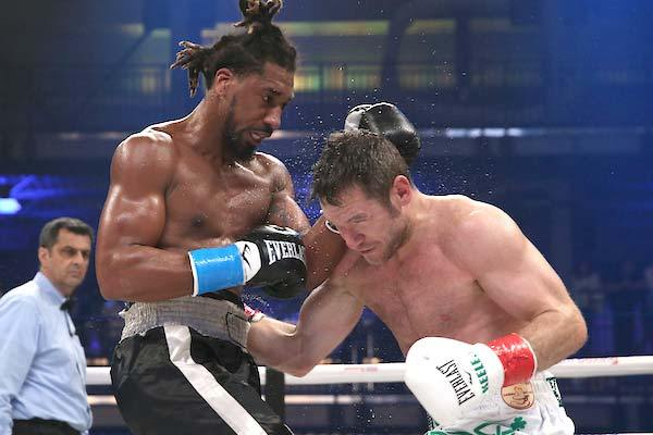 Demetrius Andrade calls out Billy Joe Saunders after dominating Luke Keeler