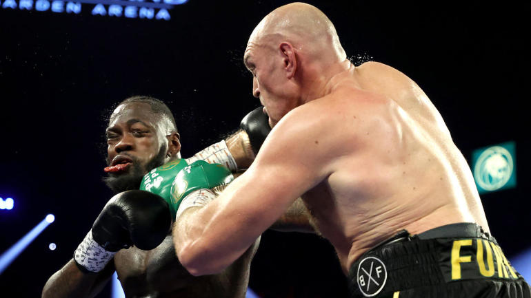 Deontay Wilder rushed to hospital after bloody defeat to Tyson Fury