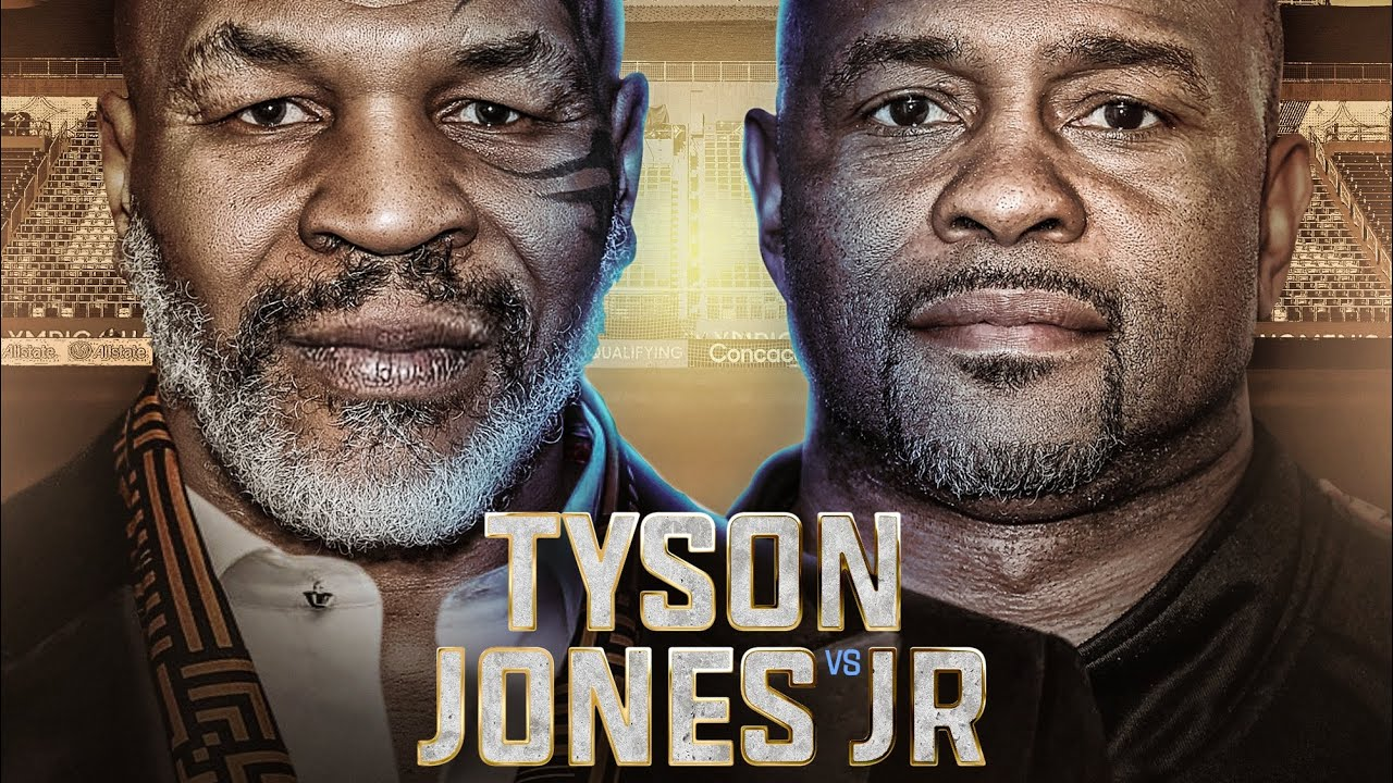 Mike Tyson Aiming For The Knockout Against Roy Jones Jr